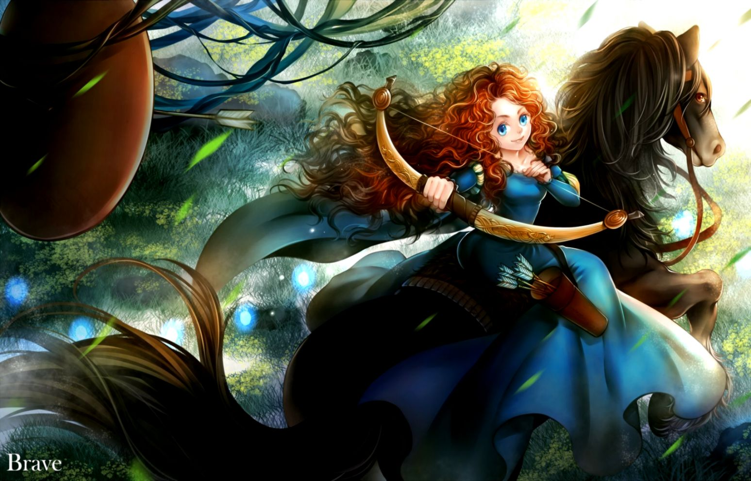 Princess Merida Wallpaper The Champion Wallpapers
