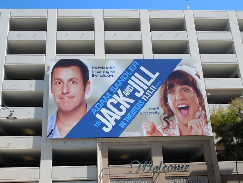 Jack and Jill movie billboard
