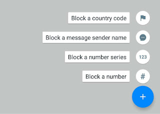 Block numbers using Truecaller