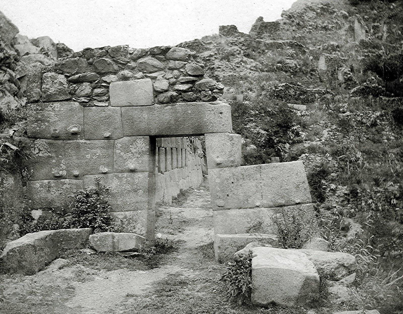 Arcos en Ollantaytambo