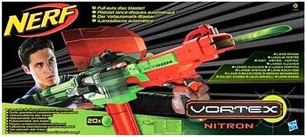 Urban Taggers Rumours Nerf Vortex Nitron With Shield