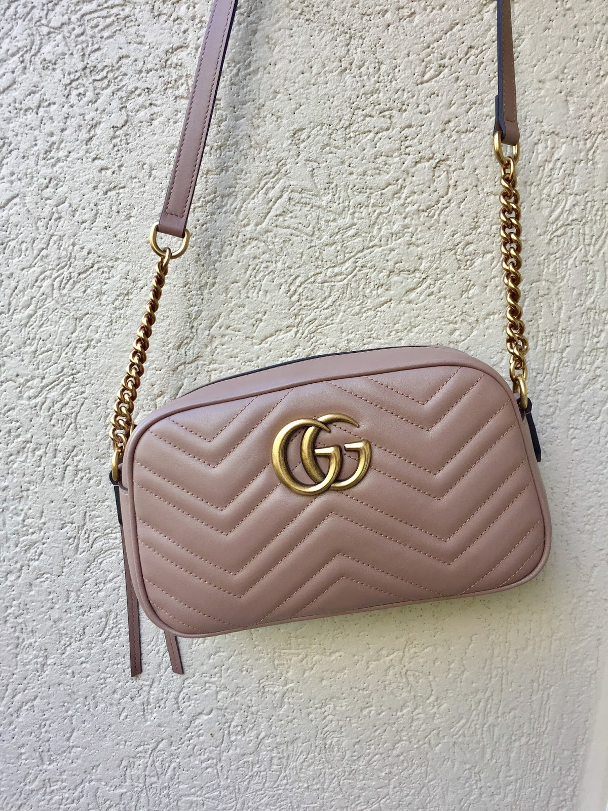 Petite Impact Review Gucci Gg Marmont Matelasse Shoulder Bag Size Small Nude