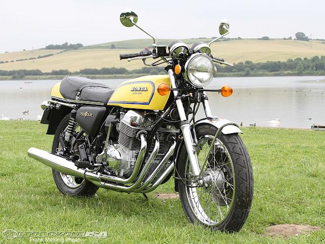 Honda CB750 Front look