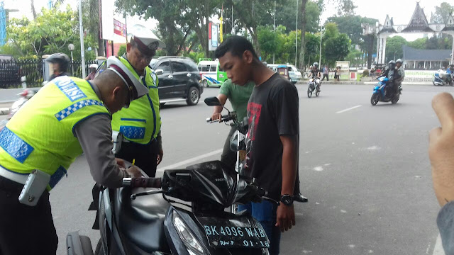 Gegara di Tilang , TNI ini Marahi Petugas Satlantas Polres Siantar