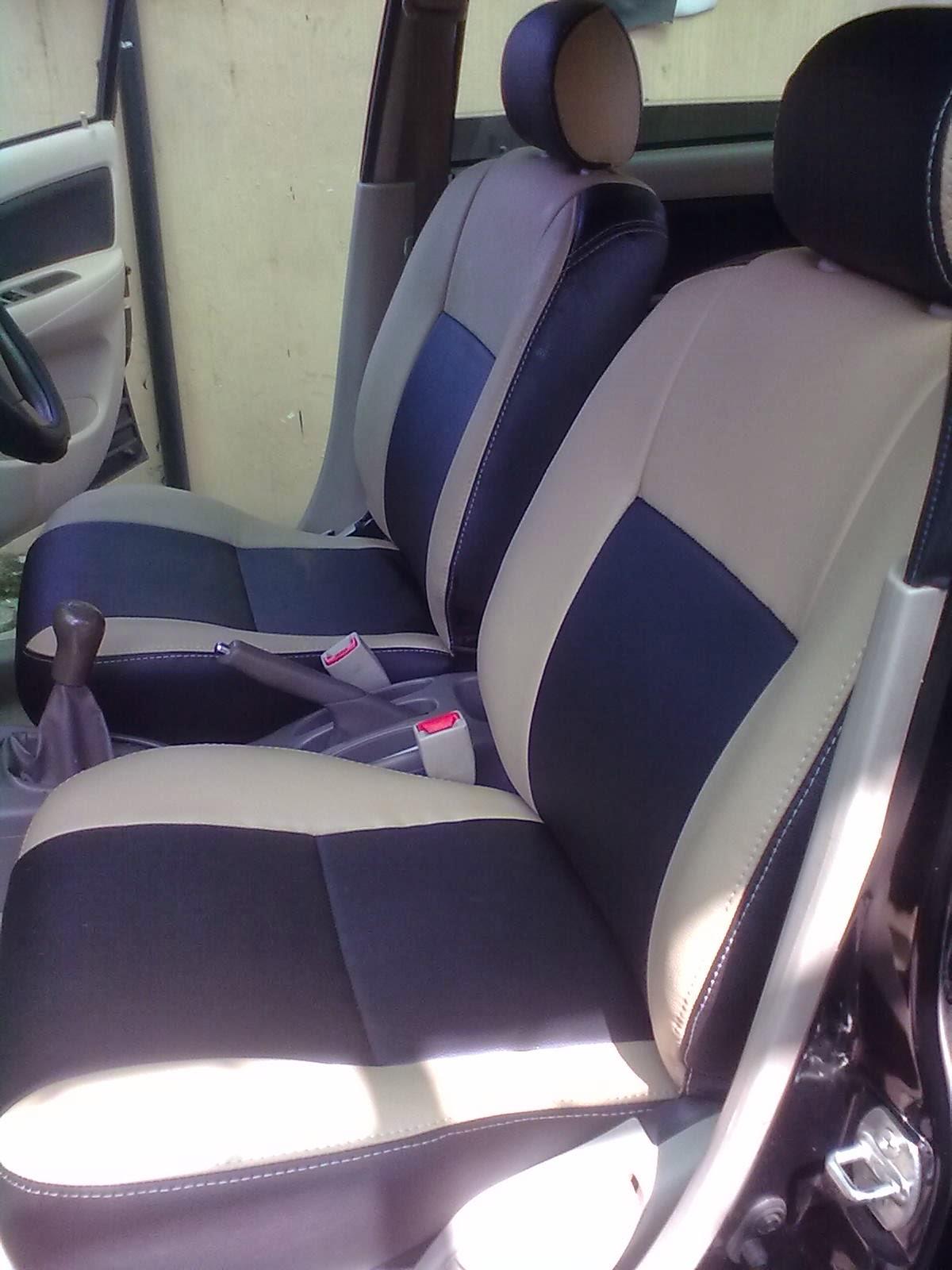 Jok Grand New Avanza Veloz 1.5 Putih Sarung Mobil Mbtech Iguana Champignon Medan