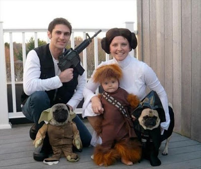 Star Wars Family Halloween Costumes