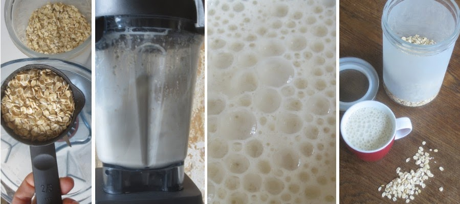 Zubereitung Hafermilch (Haferdrink aus Haferflocken)