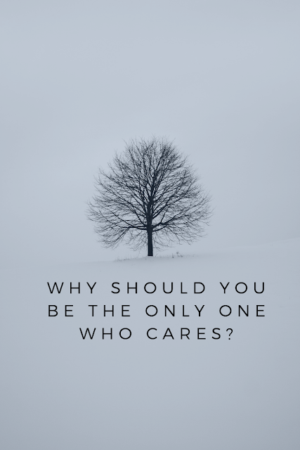 Do you care more in the relationship?