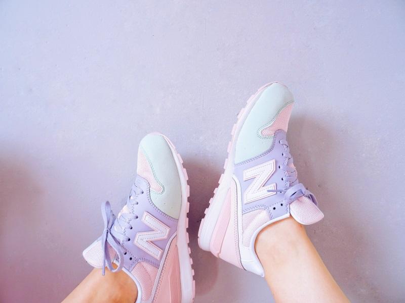 sneakers pastel New Balance nouveautés spartoo