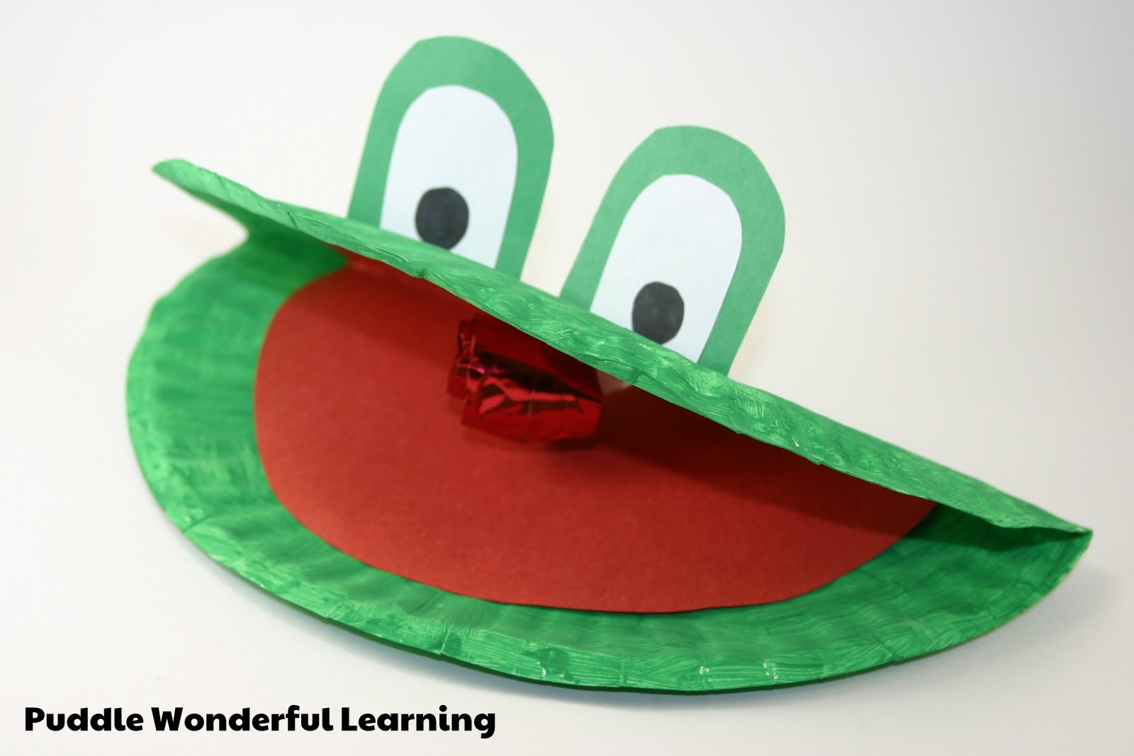 Puddle Wonderful Learning Preschool Activities Letter Of
