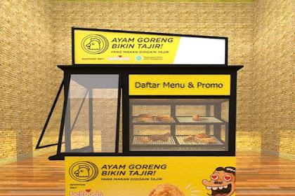 Model Desain Gerobak Fried Chicken ini bisa Anda Pilih Sebagai Referensi