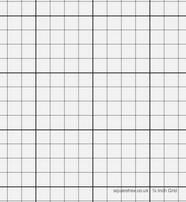 A1 1 4 Inch Grid Sheet Tube Of 8 Sheets