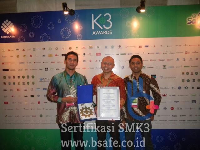 Jasa Sertifikasi SMK3, Sertifikat SMK3, Pembuatan Sertifikat SMK3, Sertifikasi SMK3