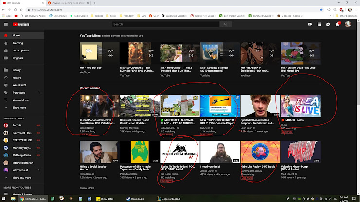 "YouTube fixes ""weird"" recommendations on its homepage"