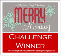 I'm a winner at Merry Monday!