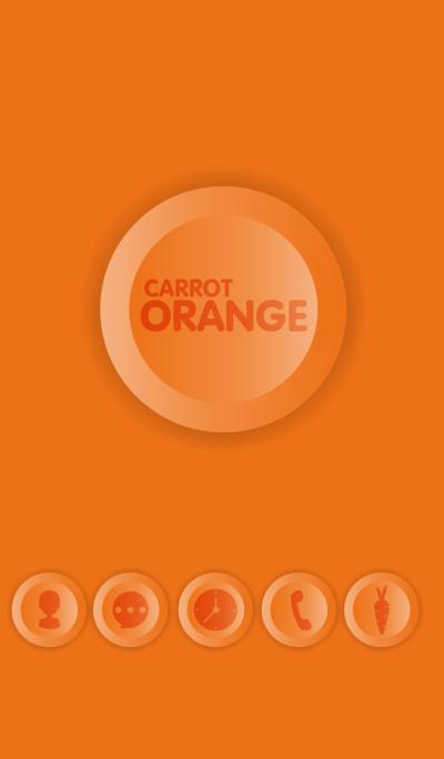 Simple Carrot Orange Button theme(jp)