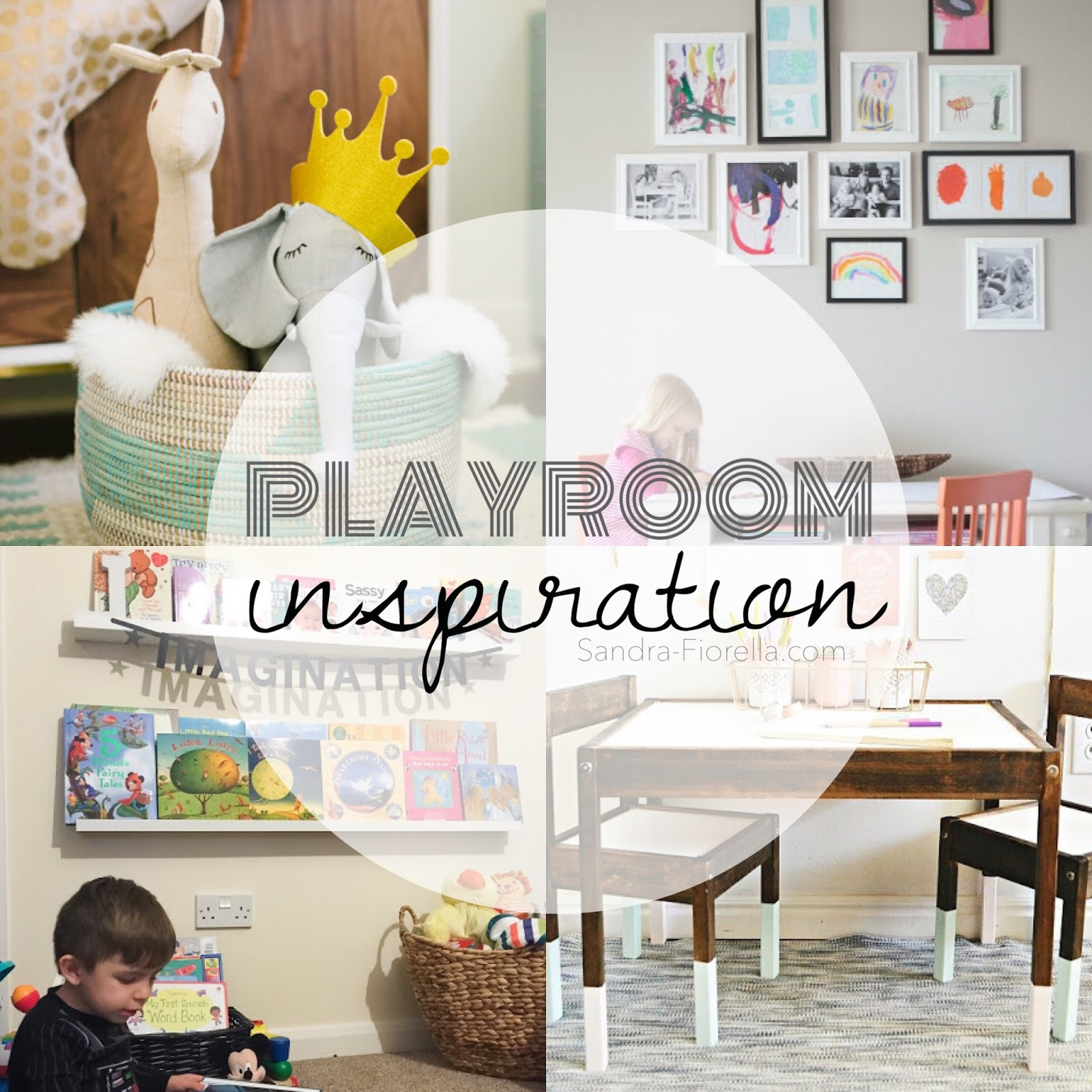 Children S And Kids Room Ideas Designs Inspiration: Sandra's Studio: Playroom Inspiration