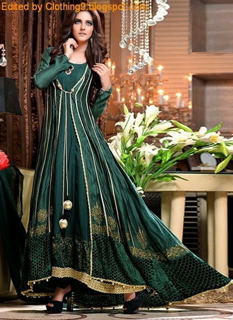 Pakistani Formal Clothes Evening Wear Designs Wedding