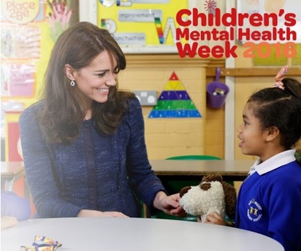 Catherine, Duchess of Cambridge has urged Britain¹s schools to do more to provide emotional support for children to give them the resilience to cope with life¹s challenges.