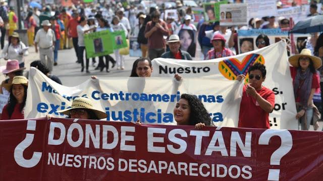 Madres de desaparecidos en México marchan para pedir justicia