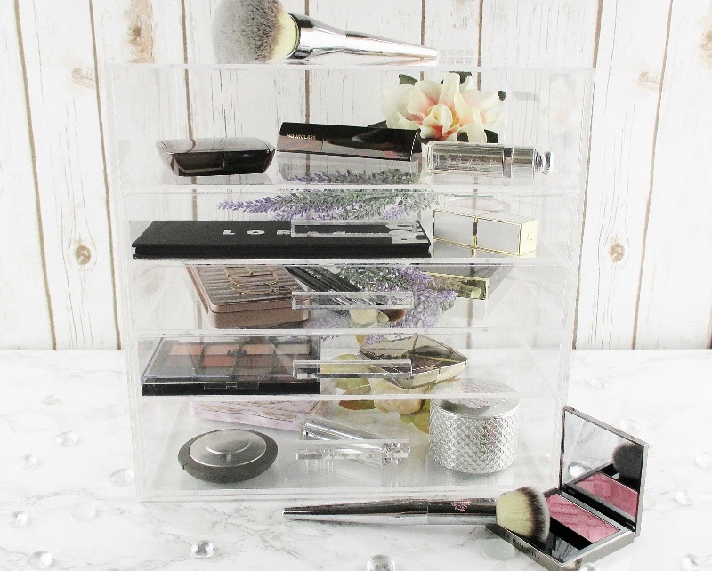 Chic And Affordable Acrylic Makeup Storage Solutions For