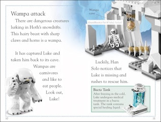 Sample page #1 from Lego Star Wars -- RETURN OF THE JEDI  by Emma Grange