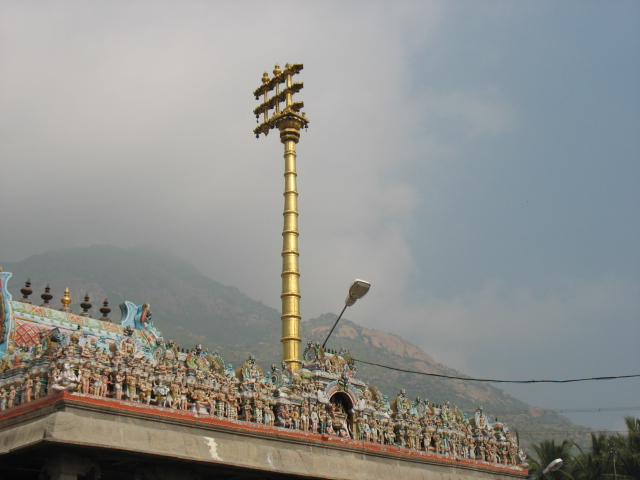 Dhvaja Stambha Arunachaleswarar Temple