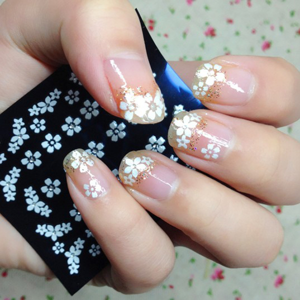 diy- home nail art stickers