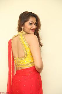 Actress Ashwini in Golden choli Red saree Spicy Pics ~  101.JPG