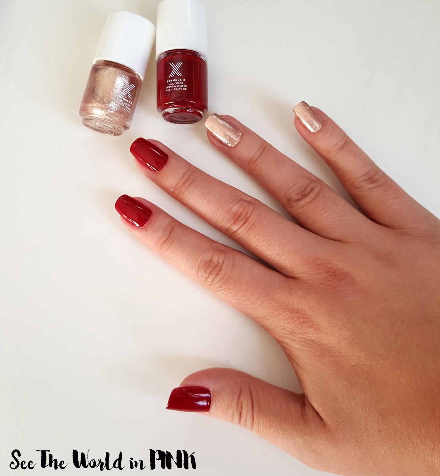 Formula X Nail Colours - Ignite and Revved Up!