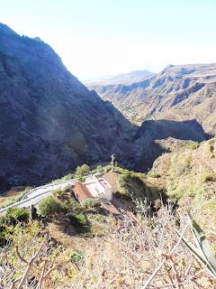 Vistas del valle de Agaete