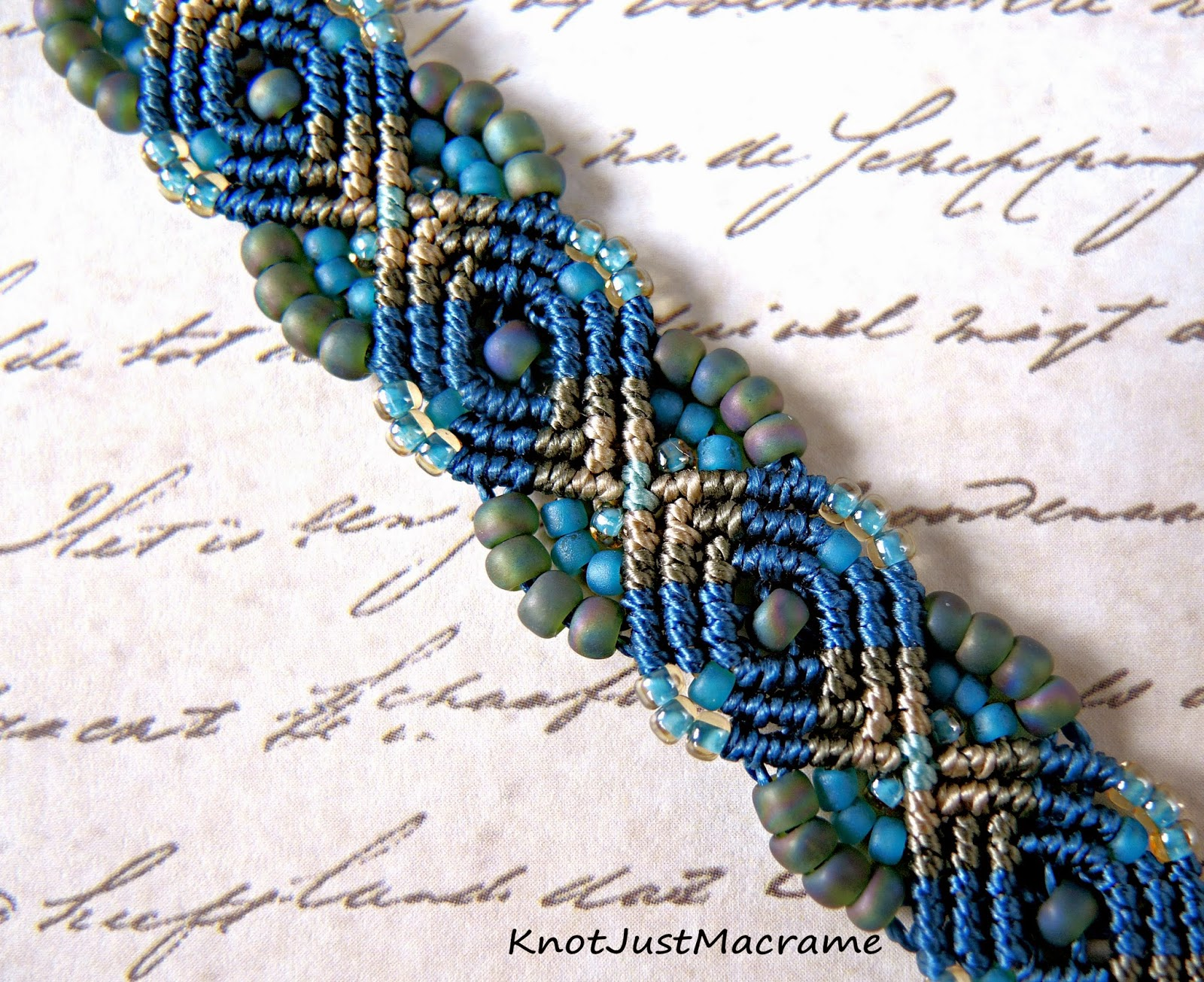 micro macrame patterns knot just macrame by sherri stokey peacock bracelet a 2357