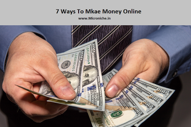 7-ways-to-make-money-online-in-2019