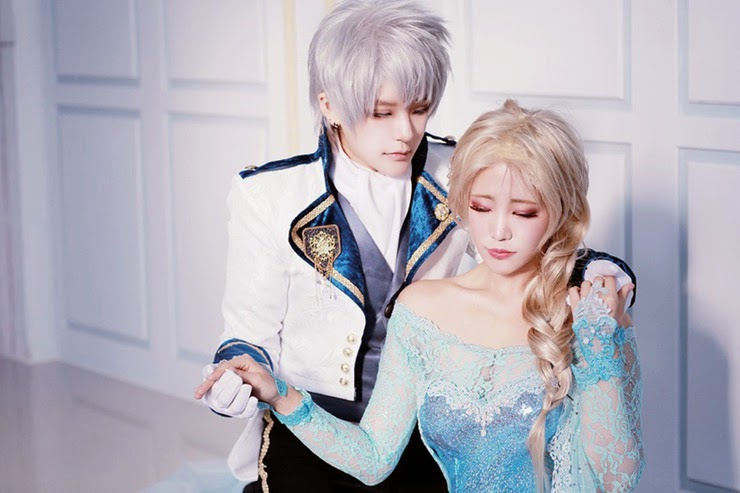 Keneshi Project Jack Frost Queen Elsa Of Arendelle Cosplay By Reach Asuka