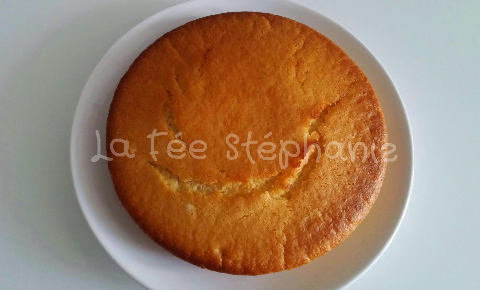Cake a la vanille sans oeuf