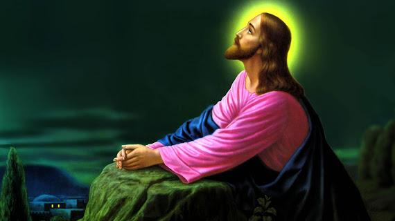 Happy Easter download besplatne pozadine za desktop 1366x768 slike ecard čestitke blagdani Uskrs Isus Krist molitva Getsemanski vrt