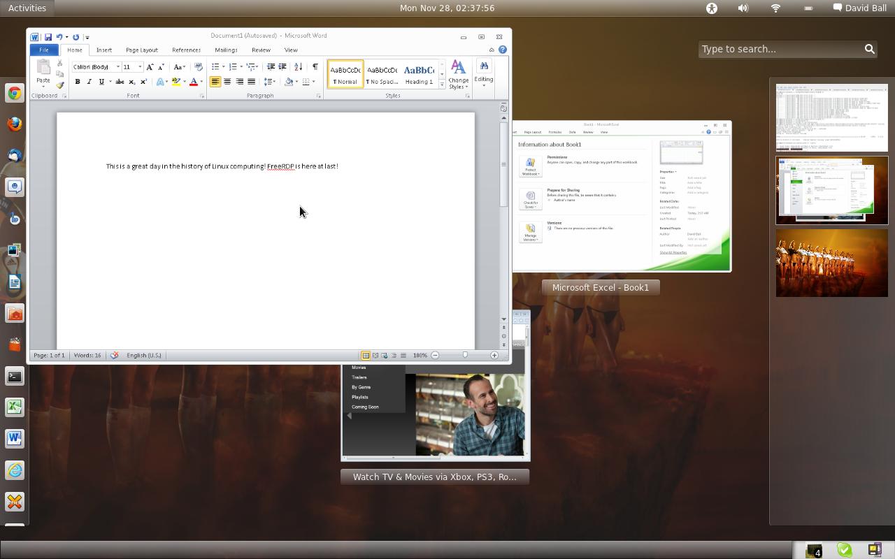 David Allen Ball: Windows, Meet Linux  Linux, Meet RemoteApp