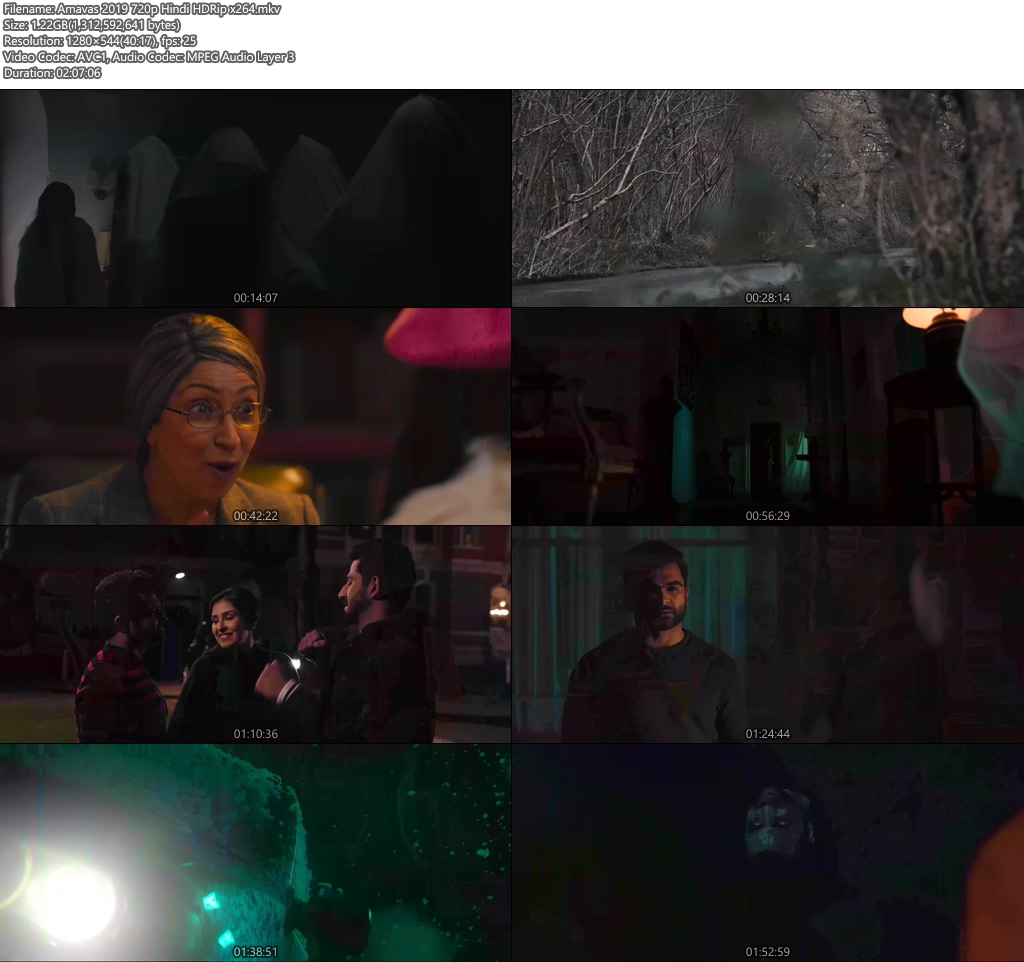 Amavas 2019 720p Hindi HDRip x264 | 480p 300MB | 100MB HEVC Screenshot
