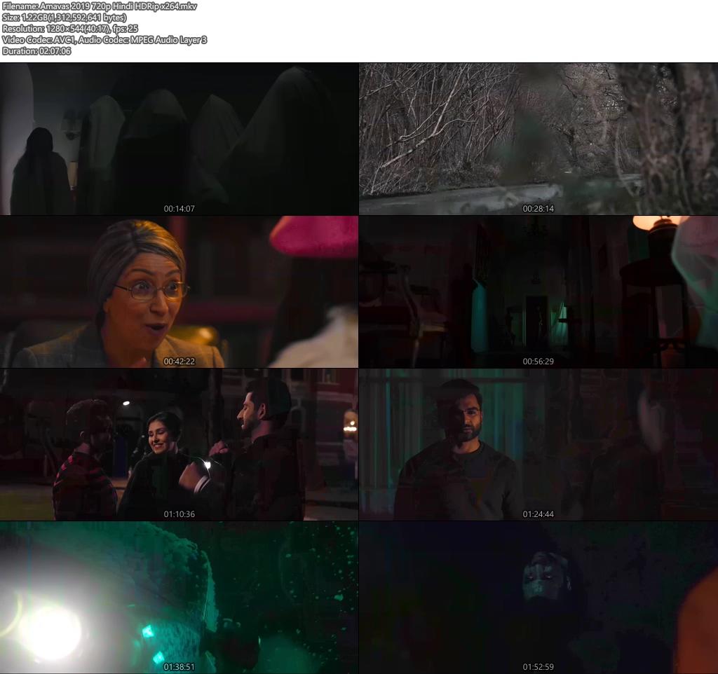 Amavas 2019 720p Hindi HDRip x264   480p 300MB   100MB HEVC Screenshot