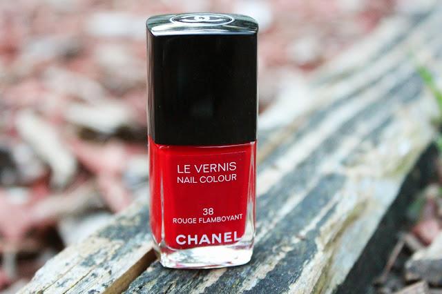 rouge flamboyant, chanel, 38