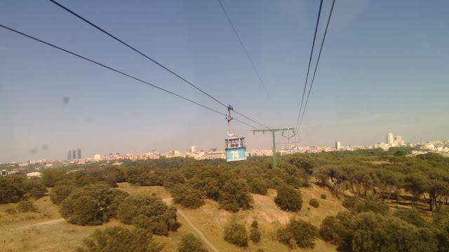 TURISMO: Madrid vista desde un funicular por Kaiser Solano Alpargata  Viajera. España.