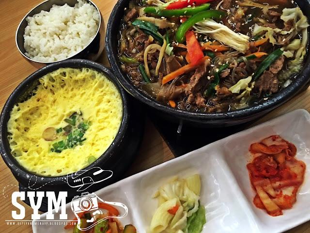 Makanan Korea Sedap di Sooping IOI City Mall