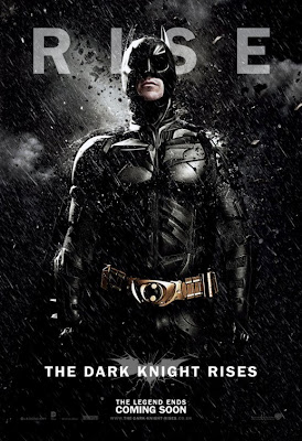 "The Dark Knight Rises ""RISE"" Character Movie Poster Set - Christian Bale as Batman"