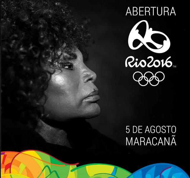 Elza Soares é confirmada na abertura dos Jogos Olímpicos no Rio de Janeiro
