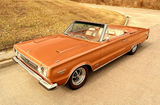 1967 Plymouth Belvedere GTX 426 Hemi Coupe Converible