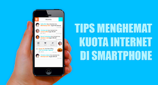 Cara menghemat data internet android