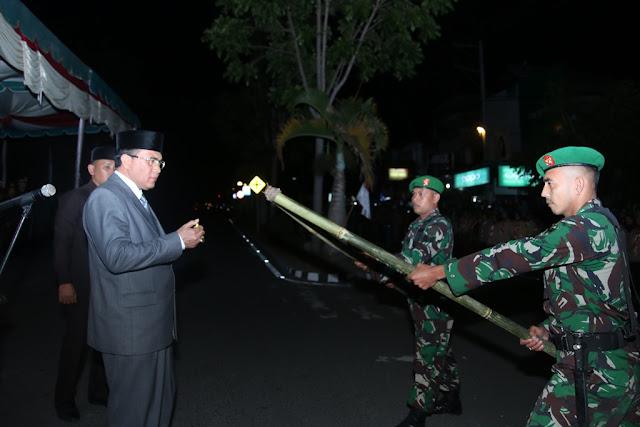 Pawai Obor Meriahkan HUT RI di Aceh Tengah