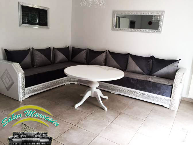 boutique salon marocain 2018 2019 salon moderne. Black Bedroom Furniture Sets. Home Design Ideas