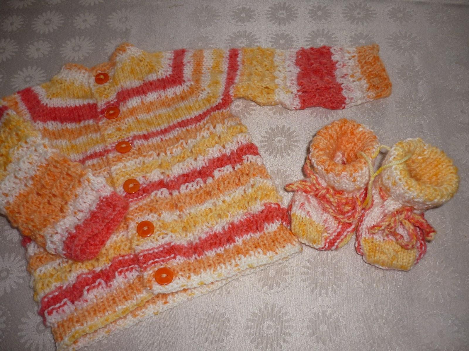 Mis labores de punto y crochet bebe - Labores de crochet para bebes ...