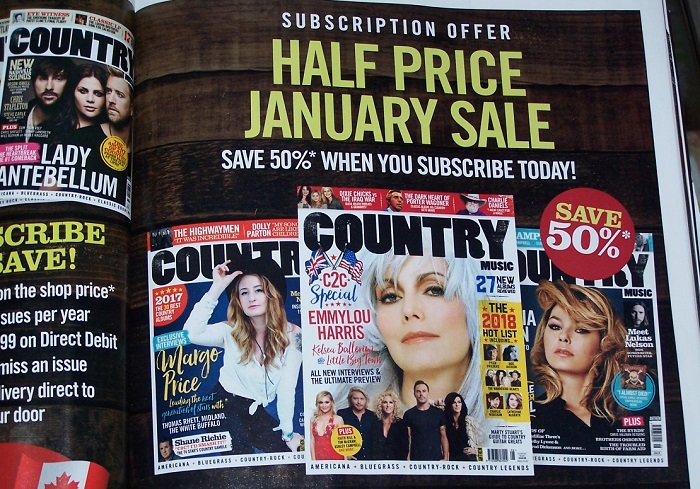 Country Routes News C2c2018 Special Country Music Magazine Feb